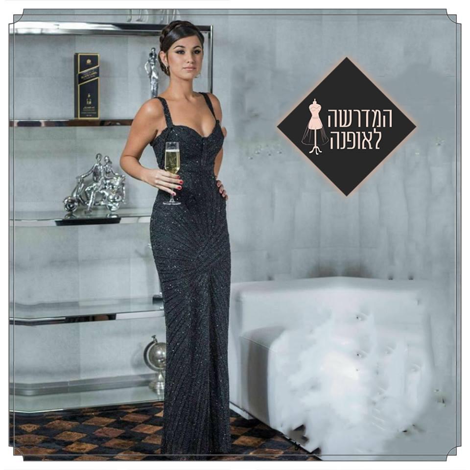 שמלת ערב של מיטל שוקרון קמפוס אשדוד