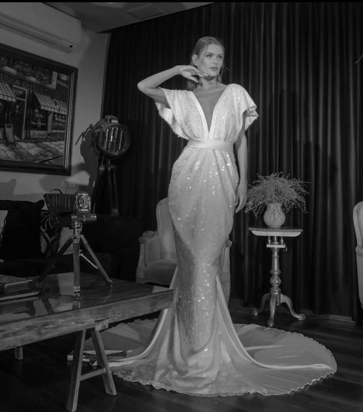 עיצוב שמלת כלה ויקטוריה
